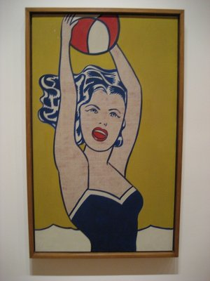 Girl with Ball | Lichtenstein