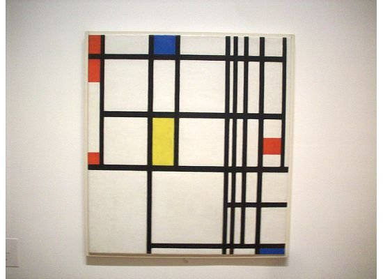 Composition in Red, Blue, and Yellow | Mondrian
